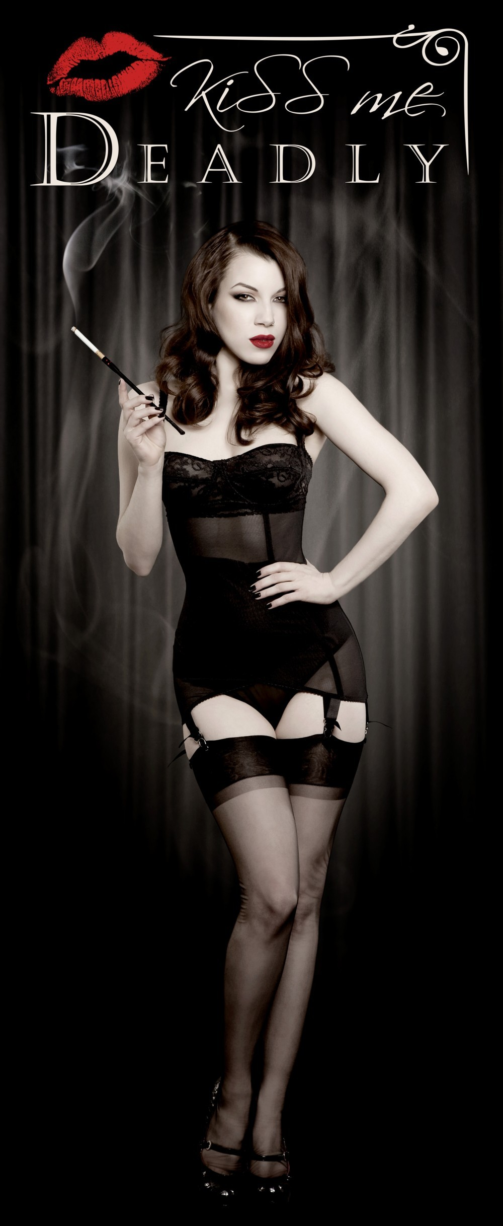 Kiss Me Deadly Vargas Girdle